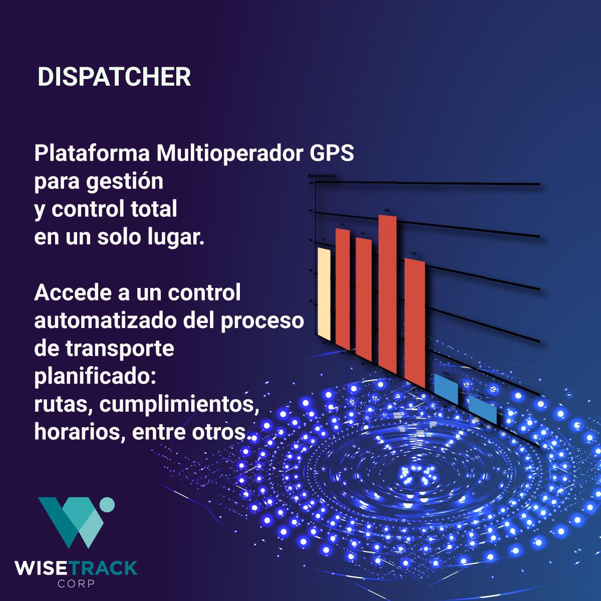 Dispatcher GPS Control y Monitoreo de Flotas