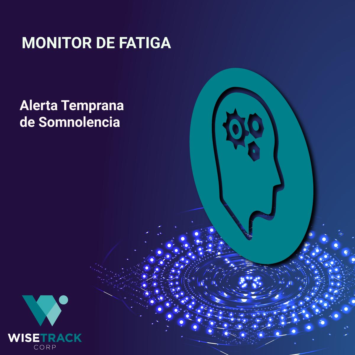 Monitor de Fatiga GPS Control y Monitoreo de Flotas